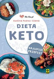 okładka Dieta KETO Najlepsze przepisy, Książka   Podrez-Siama Ewelina
