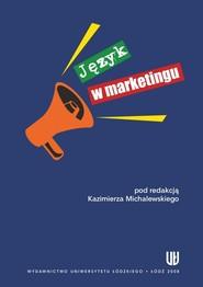 okładka Język w marketingu, Ebook | NULL