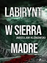 okładka Labirynt w Sierra Madre, Ebook | Jarosław Klonowski