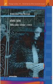 okładka Efekt lalki. Lalka jako obraz i rzecz, Ebook | Radosław Filip  Muniak