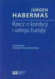 okładka Rzecz o kondycji i ustroju Europy, Ebook | Jürgen  Habermas