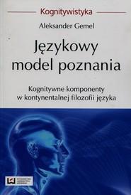 okładka Językowy model poznania, Ebook | Aleksander Gemel