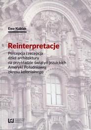 okładka Reinterpretacje, Ebook   Ewa Kubiak