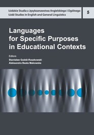 okładka Languages for Specific Purposes in Educational Contexts, Ebook | NULL