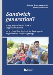 okładka Sandwich generation?, Ebook | Jolanta Grotowska-Leder,, Katarzyna Roszak
