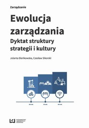 okładka Ewolucja zarządzania, Ebook | Jolanta Bieńkowska,, Czesław  Sikorski