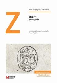 okładka Zbiory poetyckie, Ebook | Wincenty Ignacy, Marewicz