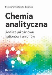 okładka Chemia analityczna, Ebook | Bożena Chmielewska-Bojarska