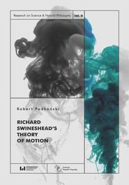 okładka Richard Swineshead's Theory of Motion, Ebook | Robert Podkoński