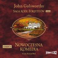okładka Saga rodu Forsyte'ów. Tom 4. Nowoczesna komedia. Część 1. Biała małpa, Audiobook | John Galsworthy