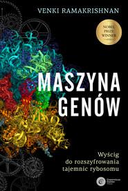 okładka Maszyna genów, Ebook | Venki Ramakrishnan