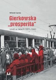 "okładka Gierkowska ""prosperita"", Ebook | Witold Jarno"