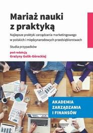 okładka Mariaż nauki z praktyką, Ebook | null