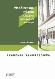 okładka Współczesne miasta, Ebook | Danuta Stawasz