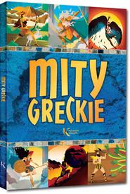 okładka Mity greckie, Książka | Szary Lucyna