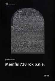 okładka Memfis 728 rok p.n.e., Książka | Daniel  Gazda