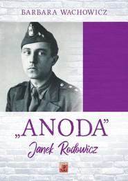 okładka ANODA, Książka | Barbara Wachowicz