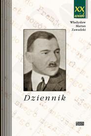 okładka Dziennik, Książka | Władysław Marian Zawadzki