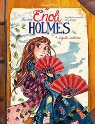 okładka Śledztwa Enoli Holmes Tom 4 Zagadka wachlarza, Książka |