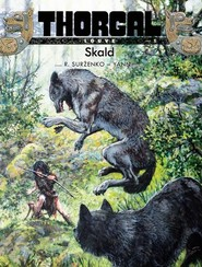 okładka Thorgal Louve Skald, Książka | Yann