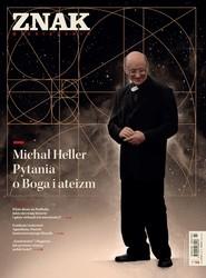 okładka ZNAK 790 03/2021 Michał Heller. Pytania o Boga i ateizm, Książka |