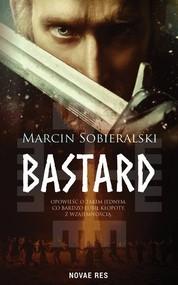 okładka Bastard, Książka | Sobieralski Marcin