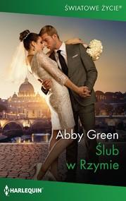 okładka Ślub w Rzymie, Ebook | Abby Green