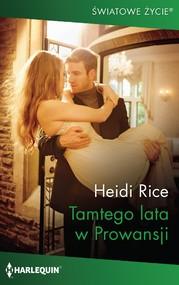 okładka Tamtego lata w Prowansji, Ebook   Heidi  Rice