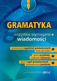 okładka Gramatyka szkoła podstawowa gimnazjum, Książka | Dorota Stopka
