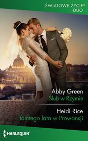 okładka Ślub w Rzymie, Książka | Abby Green