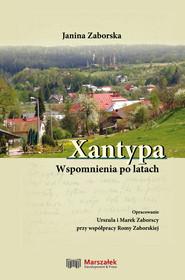 okładka Xantypa Wspomnienia po latach, Książka | Zaborska Janina