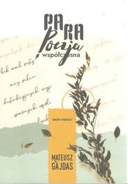 okładka Praprapoezja współczesna, Książka | Gajdas Mateusz