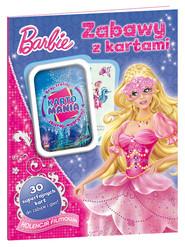okładka Barbie Zabawy z kartami, Książka |