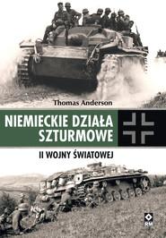 okładka Niemieckie działa szturmowe II Wojny Światowej, Ebook | Thomas Anderson