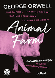 okładka Animal Farm, Ebook | George Orwell, Grzegorz Komerski, Marta Fihel, Marcin Jażyński