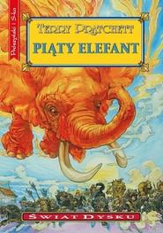 okładka Piąty elefant, Książka | Terry Pratchett