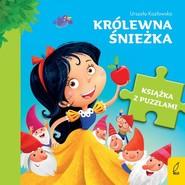 okładka Książka z puzzlami Królewna Śnieżka, Książka | Urszula Kozłowska