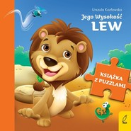okładka Książka z puzzlami Jego Wysokość lew, Książka | Urszula Kozłowska