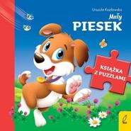 okładka Książka z puzzlami Mały piesek, Książka | Urszula Kozłowska