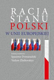 okładka Racja stanu Polski w Unii Europejskiej, Książka |