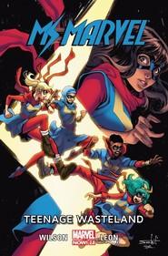 okładka Ms Marvel Tom 9 Teenage Wasteland, Książka |
