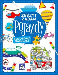 okładka Pojazdy Zeszyt zabawy, Książka   Tkocz Justyna