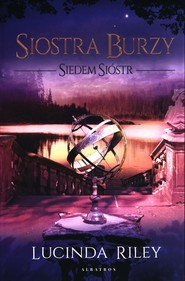 okładka Siostra Burzy Siedem Sióstr Tom 2, Książka | Lucinda Riley