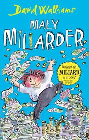 okładka Mały miliarder, Książka | David  Walliams