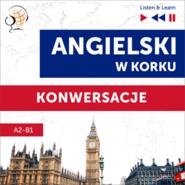 okładka Angielski w korku. Konwersacje (Poziom A2-B1 – Listen & Learn), Audiobook | Dorota Guzik