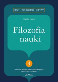 okładka Filozofia nauki, Książka | Rubén Herce