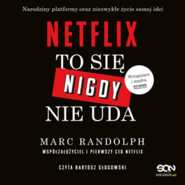 okładka Netflix. To się nigdy nie uda, Audiobook | Marc Randolph
