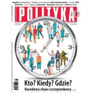 okładka AudioPolityka Nr 03 z 13 stycznia 2021 roku, Audiobook   Polityka