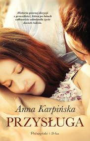 okładka Przysługa, Ebook   Anna Karpińska