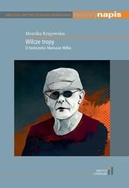 okładka Wilcze tropy, Książka | Krajewska Monika
